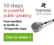 10 steps to powerful public speaking - hypnosis downloads image
