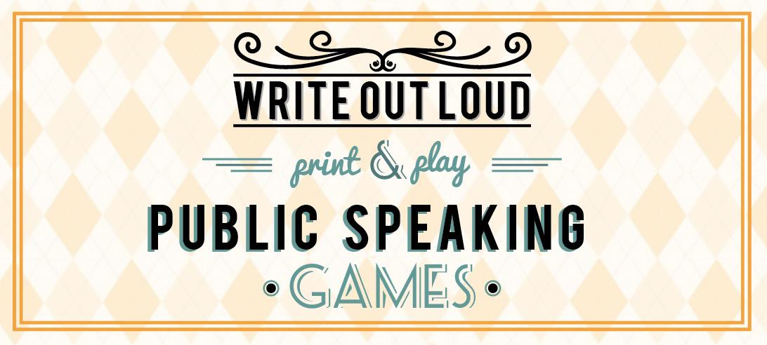 impromptu speech games