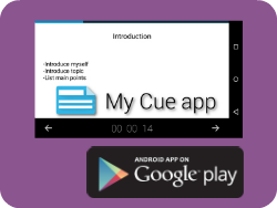 My Cue Card App - Android App
