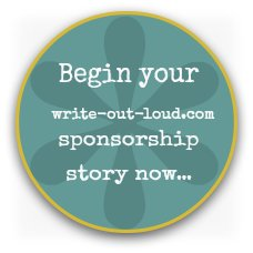 Write-out-loud.com sponsorship form button