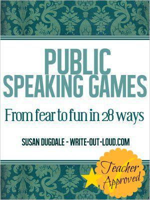 Public Speaking Games E-book cover