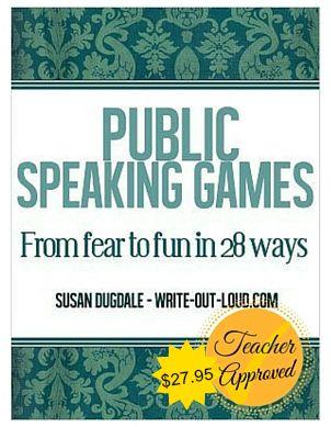 Ebook cover: Public Speaking Games