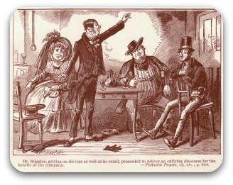 Mr Stiggins entertains: Pickwick Papers - Dickens