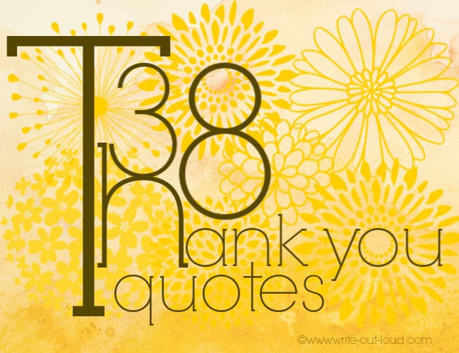 38 thank you quotes graphic -