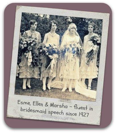 Bridal party circa 1927