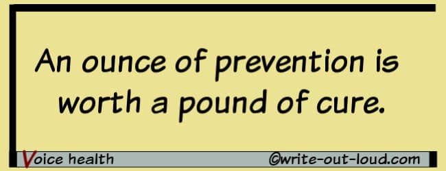 Graphic- An ounce of prevention is worth a pound of cure.