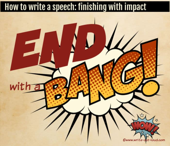 Comic Graphic: End with a bang
