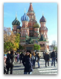 Red Square Moscow -Susan Dugdale October 2013