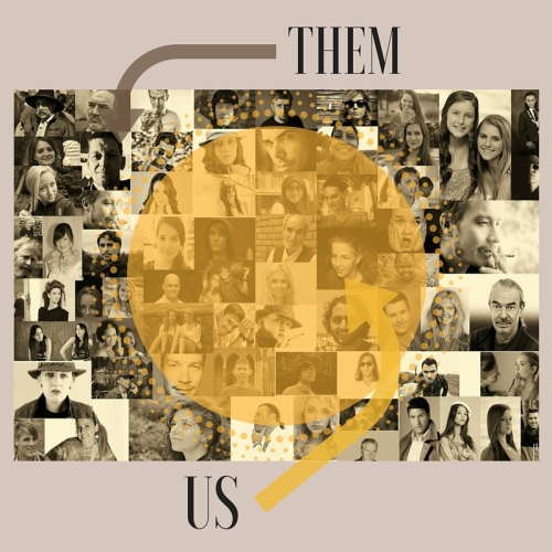Us and Them graphic