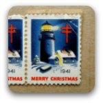 USA postage stamp Christmas 1941