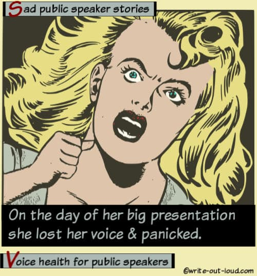 Image:retro cartoon girl screaming