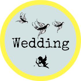wedding speech button