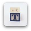 alphabet block T