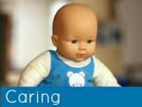Baby boy doll - caring speech topics