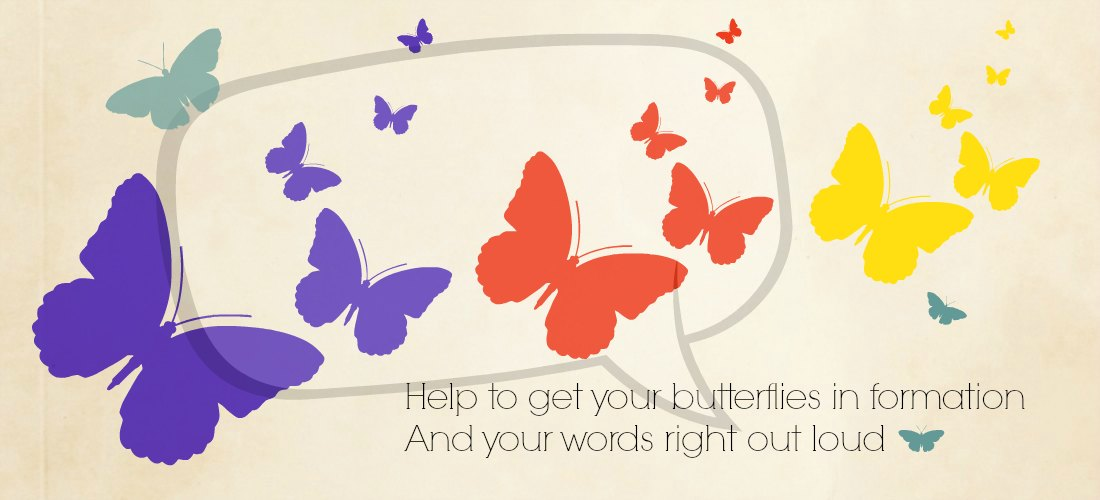 write-out-loud.com - get your butterflies in formation banner