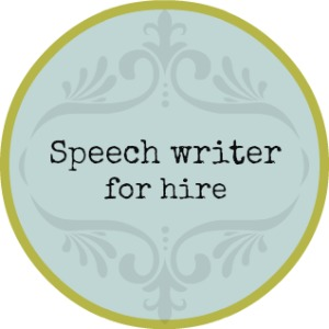 Custom speech writing samples for class 10