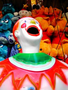 Sideshow clown