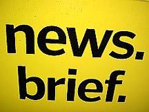 news brief sign