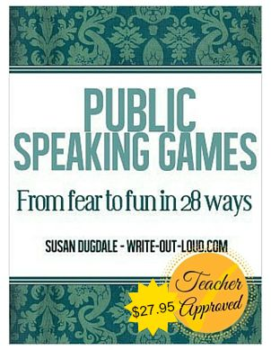 public speaking activities fun speech exercises e book cover public speaking games
