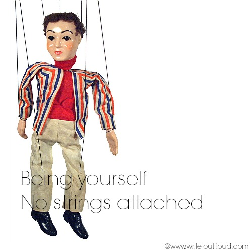 Being yourself - no strings attached