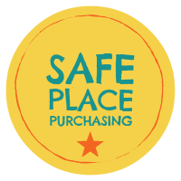 Safe Place Purchasing sticker