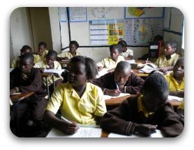 Senior class - Birdland School, Lusaka, Zambia