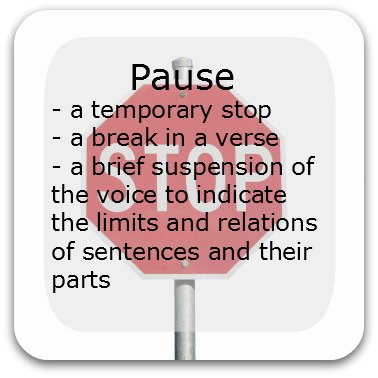 Pausing in speeches -why and how to effectively.
