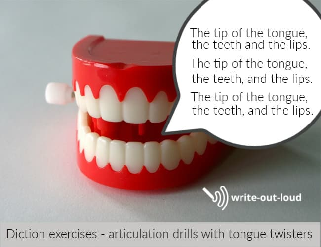 Diction Exercises - Tongue Twisters to Speak Clearly
