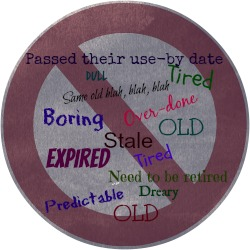 Tired speech topics button