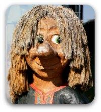 Norwegian troll having a very bad hair day