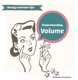 Understanding volume