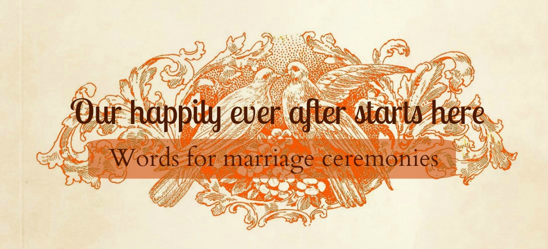 write-out-loud.com - wedding poems and readings banner