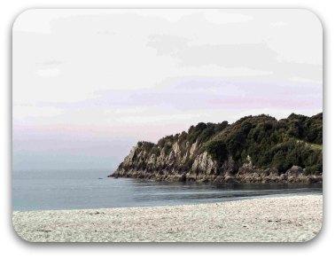 A New Zealand beach
