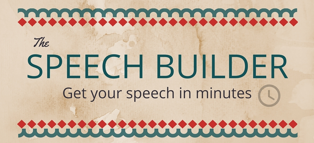 write-out-loud.com - Speech builder banner