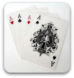 set of four aces