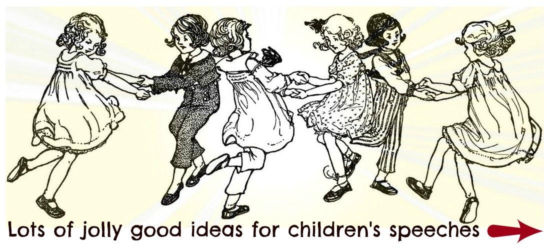 write-out-loud.com - children's speech topics banner