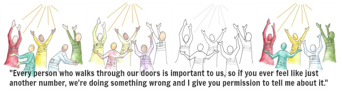 Church welcome speech sample image quote every person who walks through our doors is important to us m4hsunfo