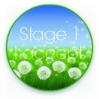 Panic Away - Stage 1 button