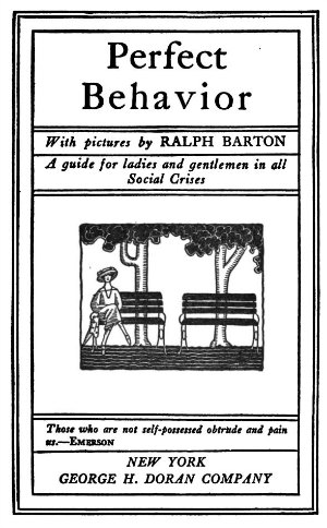 Audiece etiquette -perfect behavior