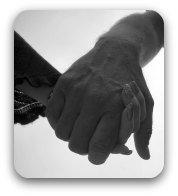 A couple's hands