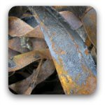 Iron scrap metal