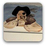 pirate with spyglass