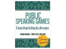 Public Speaking Games Ebook cover