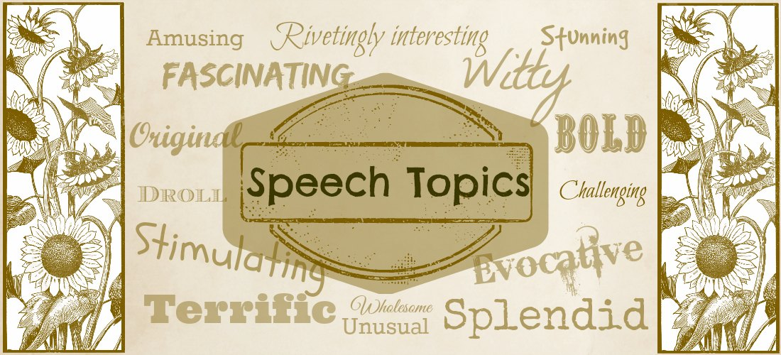 funny impromptu speech topics college