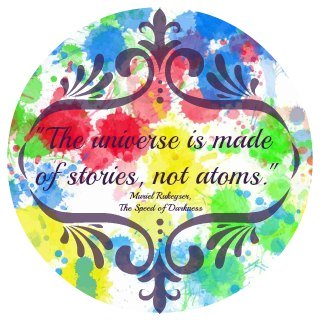 The Universe is made of stories, not atoms.