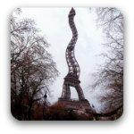 Surreal Eiffel Tower