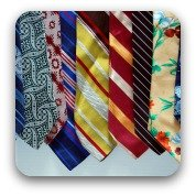 men's colorful ties