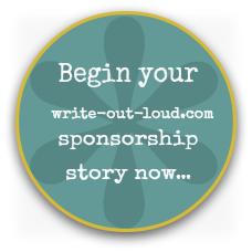 Write-out-loud.com sponsorship form button